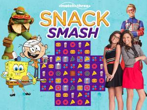 Nickelodeon: Snack Smash Puzzle game