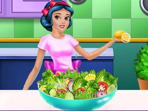 play Princess Fitness Diet