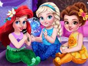 play Toddler Princesses Slumber Party