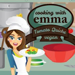 play Cooking Tomato Quiche