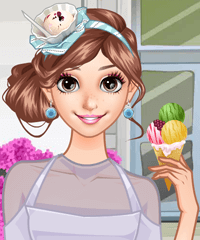 play She Loves Ice Cream Dress Up Game