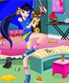 Winx Club Musa Room Cleaning game