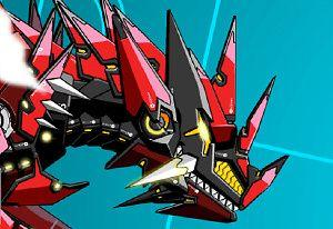 play Battle Robot: T-Rex Age