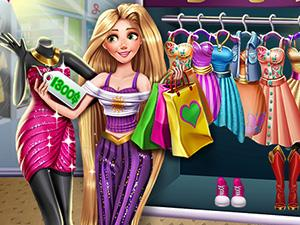 play Goldie Princess Realife Shopping