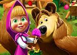play Masha And The Bear House Decoration