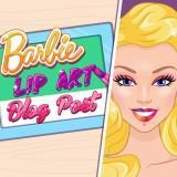 play Barbie Lip Art Blog Post