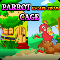 Parrot Escape From Cage game