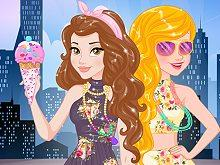 play Princesses Summer In The City