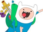 play Adventure Time Coloring Book