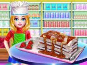 Ice Cream Sandwich Cake - Free Game At Playpink.Com game