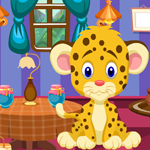 play Funny Leopard Cub Rescue