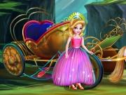 play Princess Carriage Car Wash