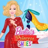 play Barbie'S Princess Shoes