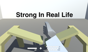 play Strong In Real Life