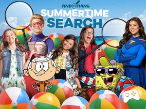 Nickelodeon: Summertime Search Puzzle game