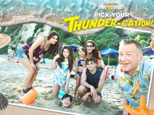 The Thundermans: Pick Your Thunder-Cation Quiz game