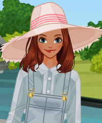 play Wide Brim Hats Dress Up Game