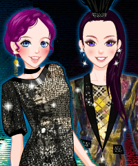 play Supermodels 2 Dress Up Game