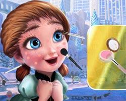 play Young Anna Makeover