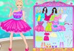 play Barbie Color Party Dress Up