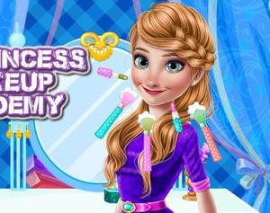 play Ice Princess Make Up Academy