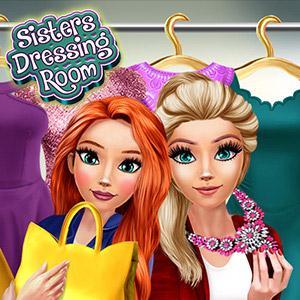Sisters Dressing Room game
