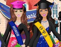play Barbie And Friends Graduation
