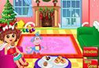 play Dora Christmas Time