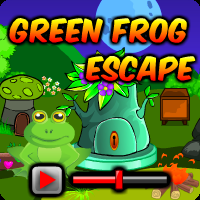 Green Frog Escape Walkthrough game