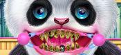 Cute Panda Dentist Care game
