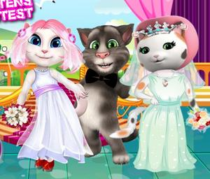 White Kittens Bride Contest game