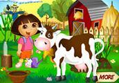 play Dora Farm