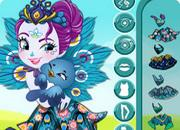 Patter Peacock Dress Up game