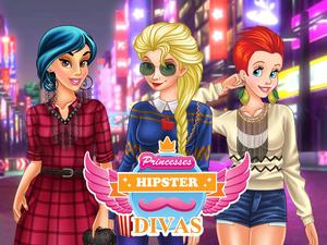 play Princesses Hipster Divas