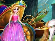 Princess Carriage Car Wash game