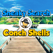 Sneaky Search Conch Shells game