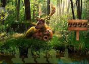 Summer Deer Forest Escape game