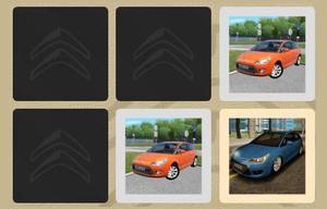 Citroen Car Memory game