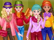 Princesses Edgy Fashion game