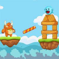 Bouncy And Monsto Bigdino game