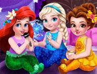 Toddler Princesses Slumber Party game