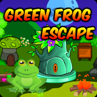 Green Frog Escape game
