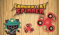 Samurai Cat Spinner game