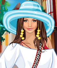 Happy Holidays Dress Up Game game