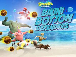 Spongebob Squarepants: Bikini Bottom Defenders game