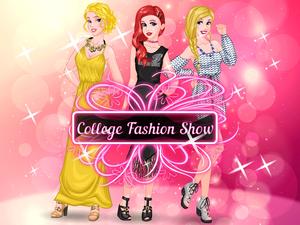 College Fashion Show game