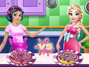 Princesses Cooking Contest game