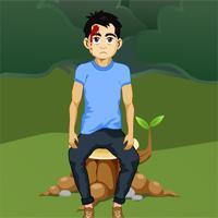 Games2Jolly Save The Injured Man game