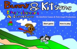Bunny And Kitsune Daydream Adventure game