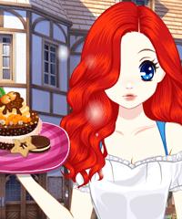 Princess Afternoon Desserts Dress Up Game game